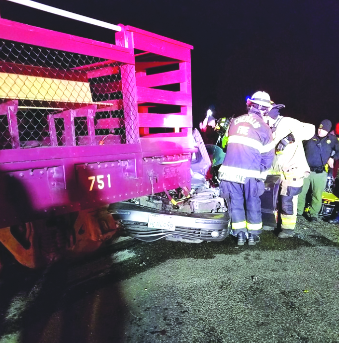 Francis man hit by Steam Train