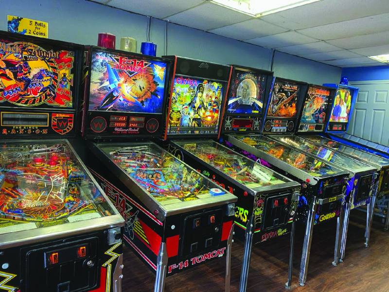 First Street Pinball and Arcade opens on Egg Day