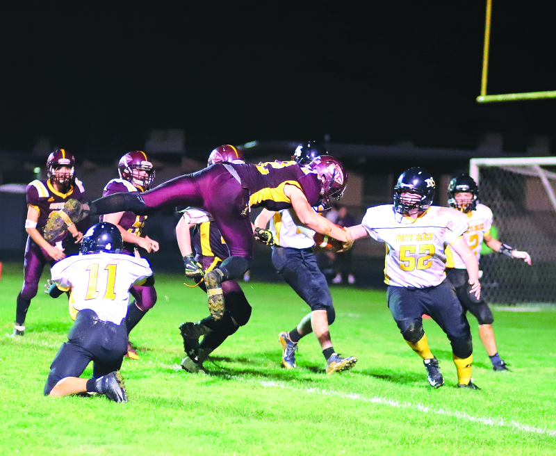 Indians close out with 26-8 win over Hyaks