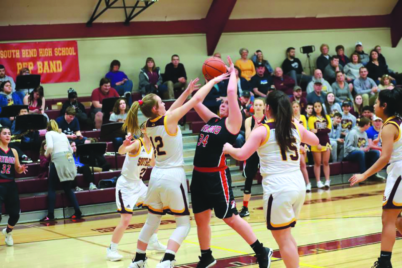 South Bend's Reidinger stands out in win over Raymond