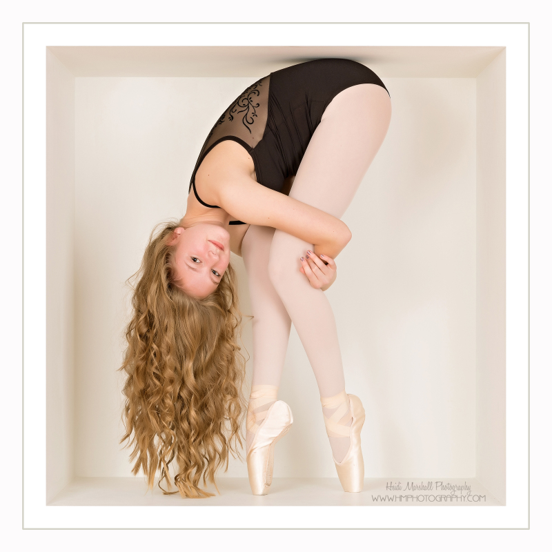 Isabel dances in the Nutcracker