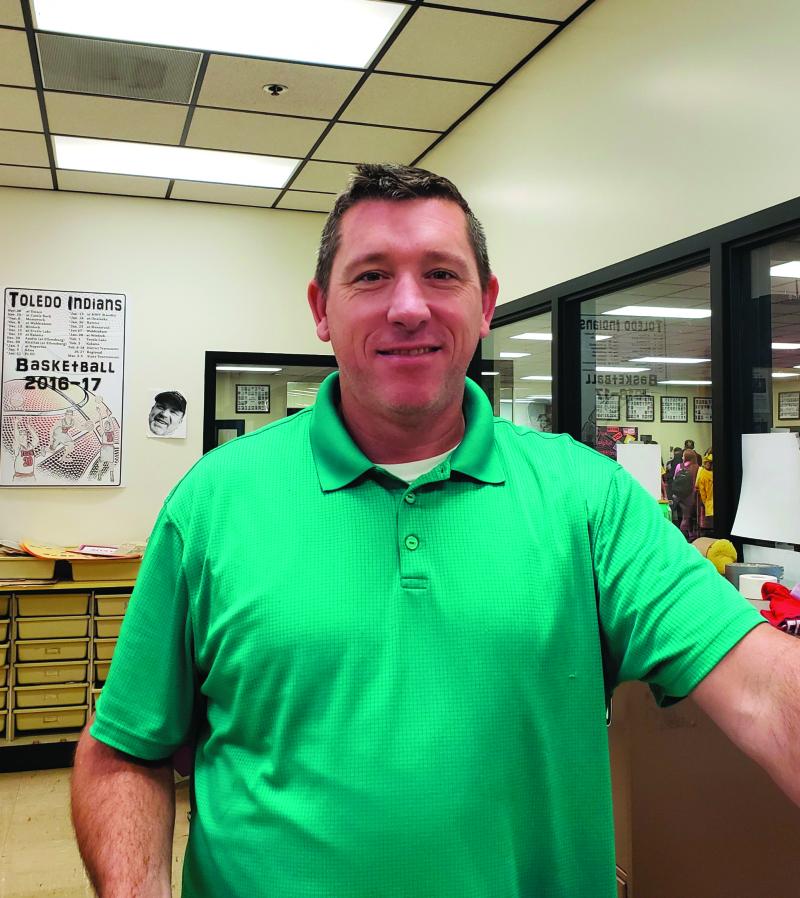 Toledo athletic director  Grady Fallon