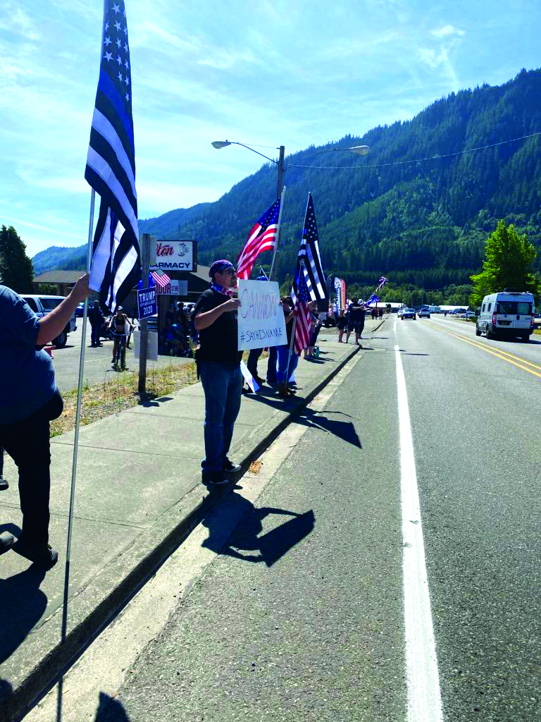 Morton holds Freedom Rally last weekend