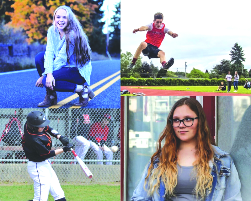 Napavine celebrates seniors in spring sports