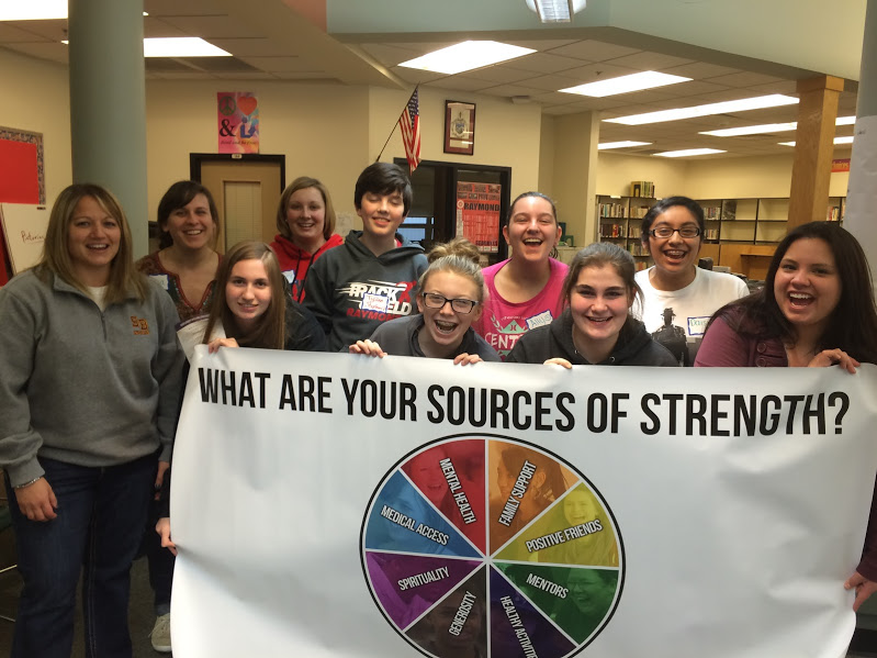 Raymond, South Bend students are Sources of Strength