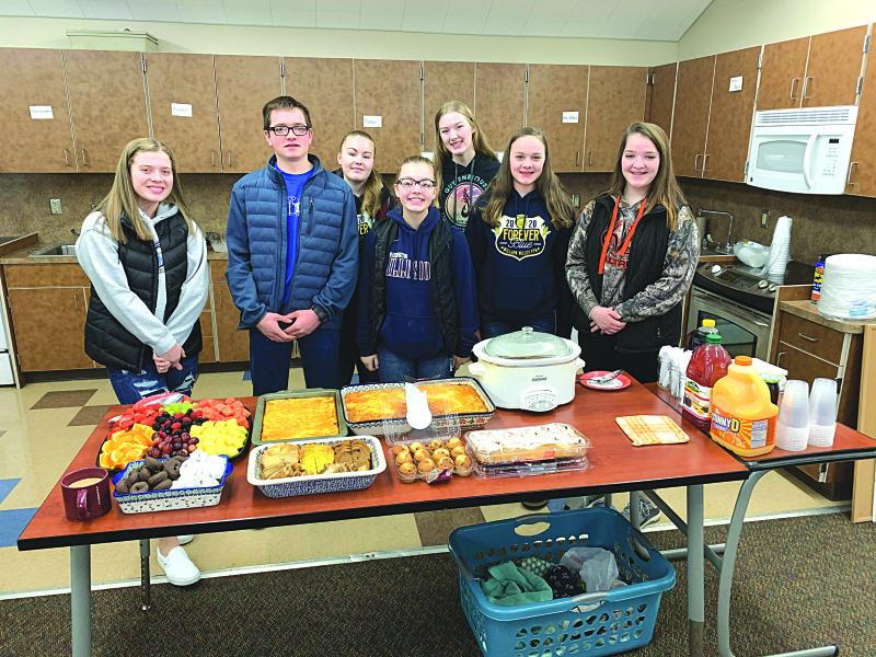Valley FFA serves Teachers Appreciation Breakfast