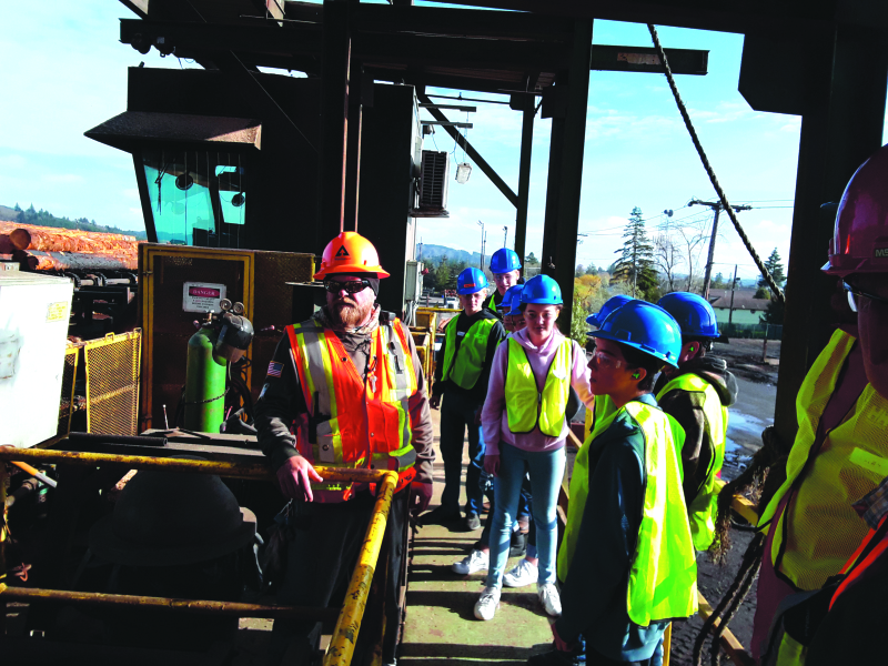 Weyerhaeuser hosts local students for Manufacturing Day
