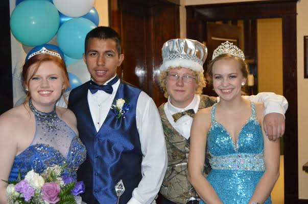 Willapa Valley 2016 Prom Court