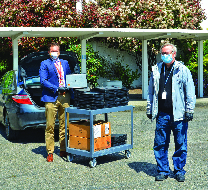 Local schools turn to remote learning
