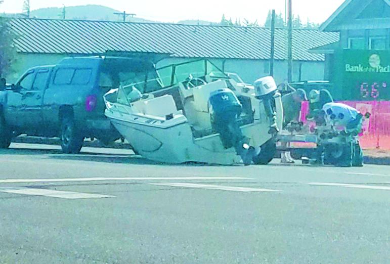Captain Pavement snarls traffic on US 101