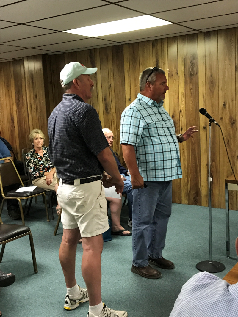 Winlock City Council contradicts themselves, Commissioner Jackson calls them out
