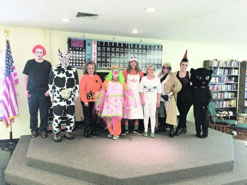 Winlock Senior Center celebrates Friday the 13th