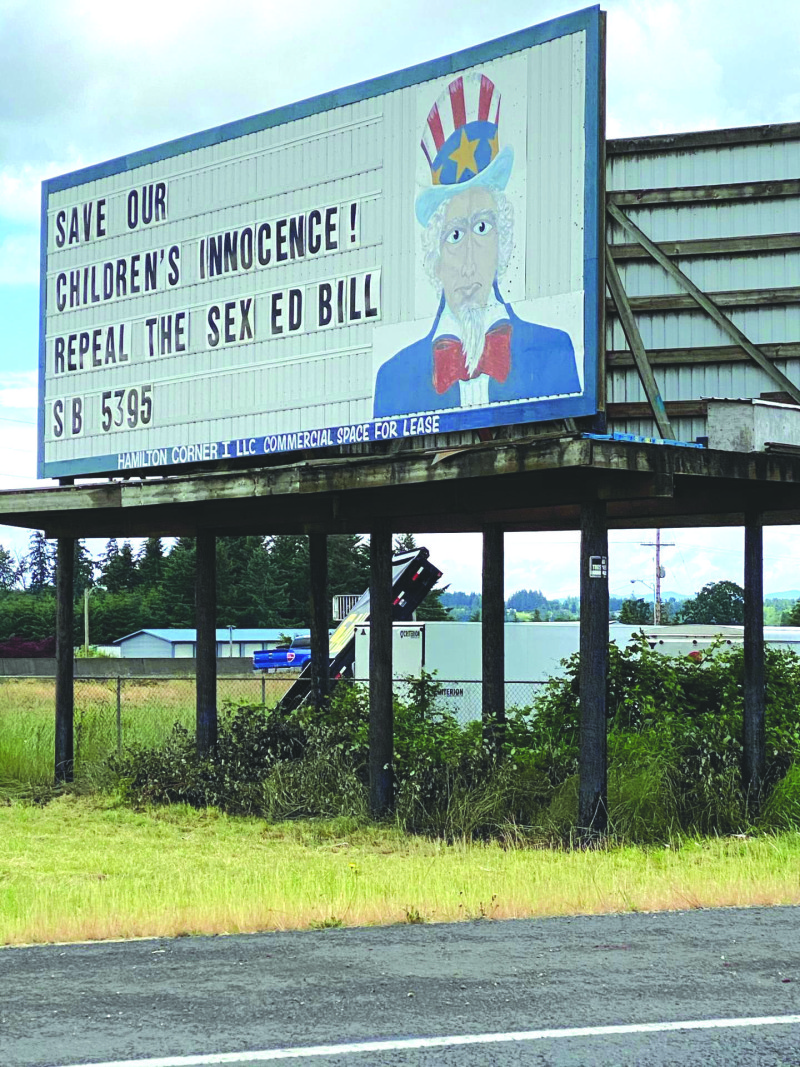 Freedom of Speech lives on in Lewis County