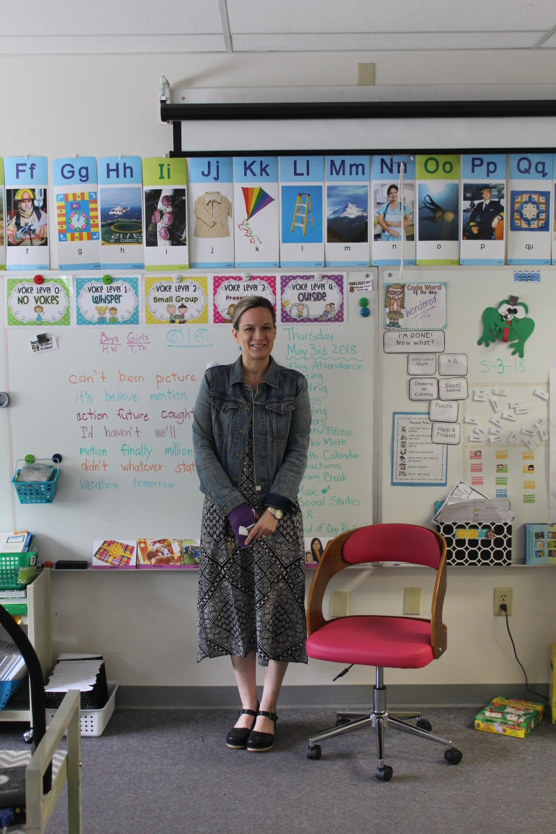 National Teacher's Week: Erika Harmer of Chauncey Davis Elementary