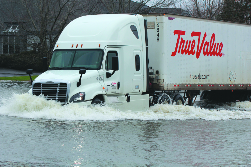 Drivers learn the hard way about flood waters